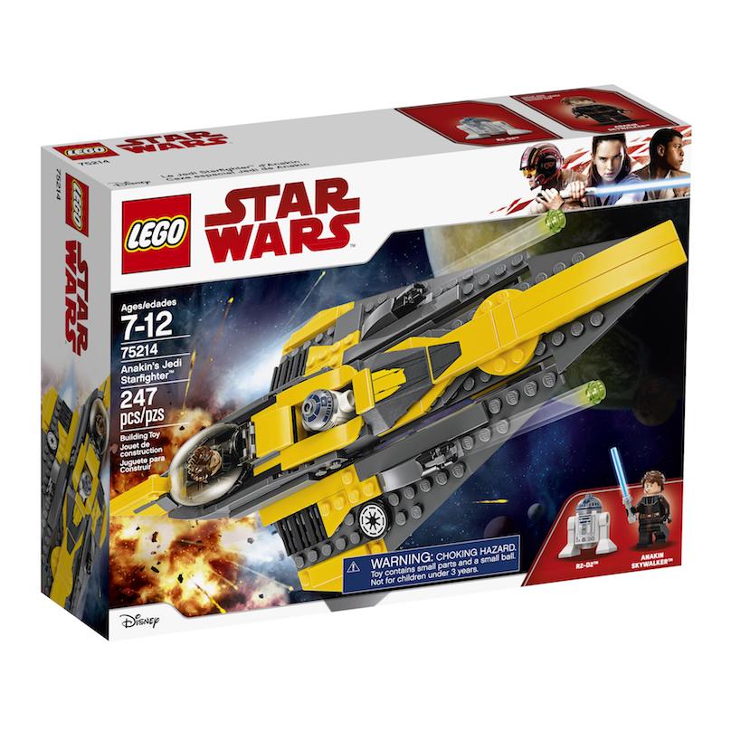 TLJ (CW) Anakin's Jedi Starfighter Lego Set 1