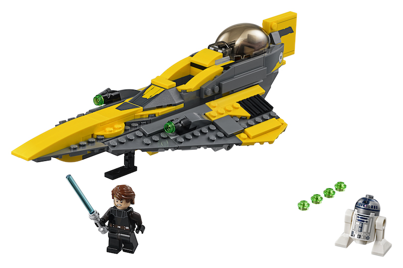 TLJ (CW) Anakin's Jedi Starfighter Lego Set 3