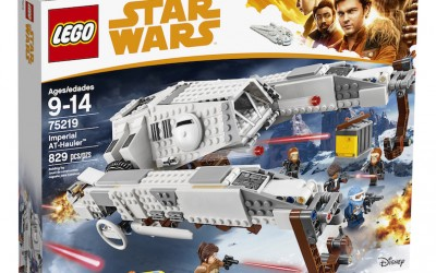 New Solo Movie Imperial AT-Hauler Lego Set available on Walmart.com