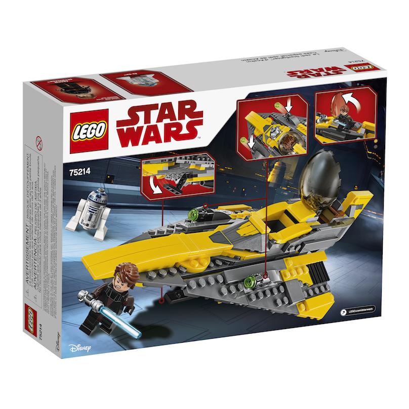 TLJ (CW) Anakin's Jedi Starfighter Lego Set 2