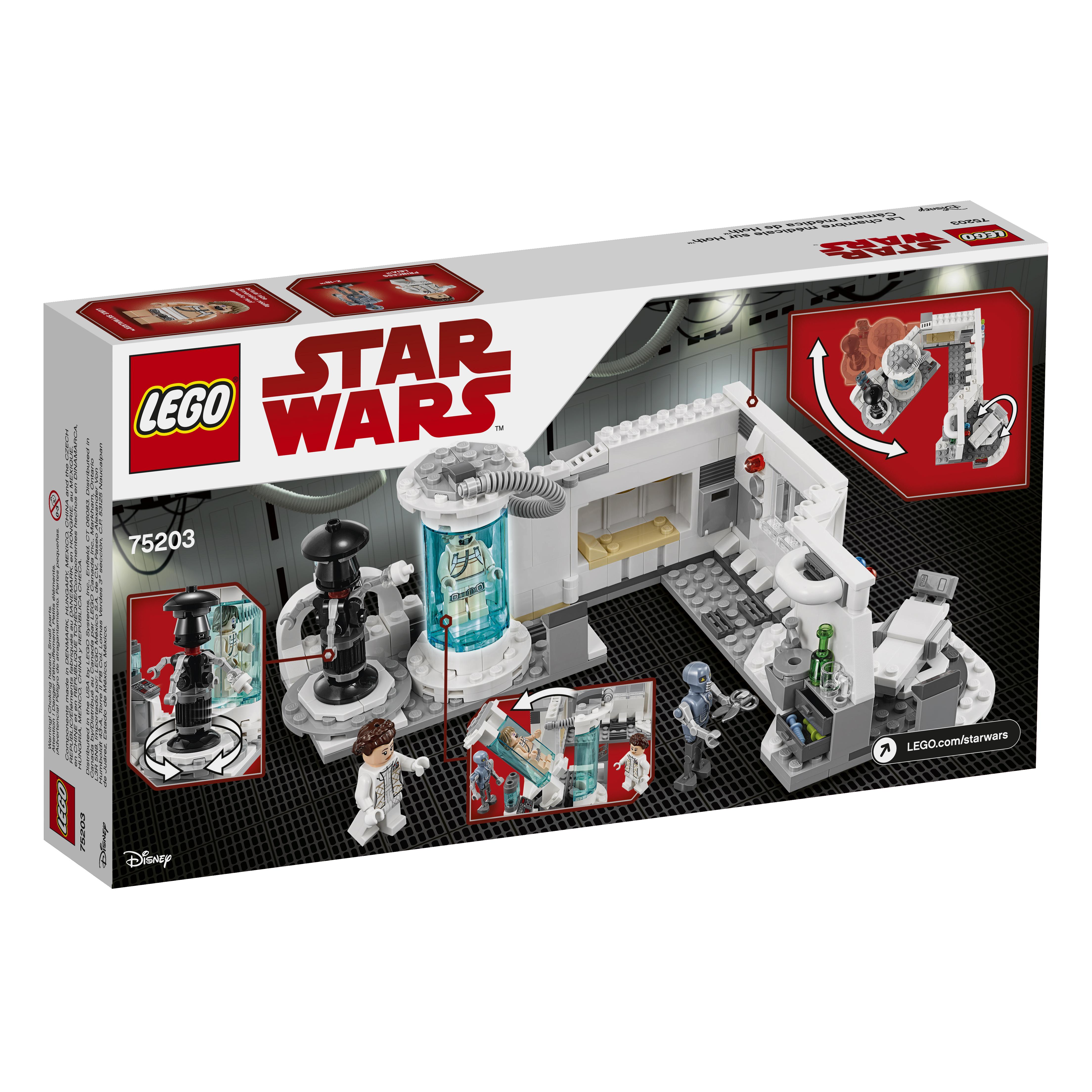 TLJ (TESB) Hoth Medical Chamber Lego Set 2