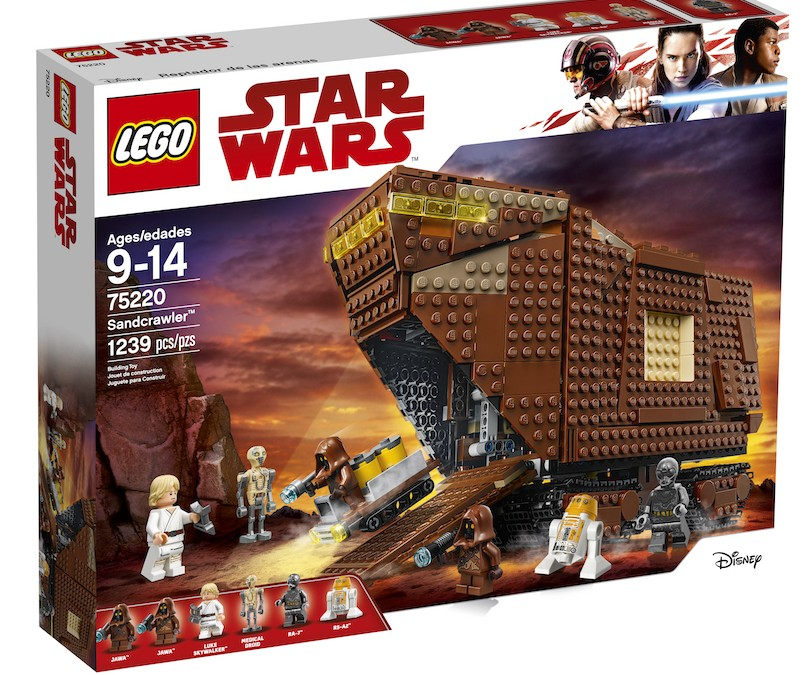 New Last Jedi (A New Hope) Sandcrawler Lego Set available on Walmart.com
