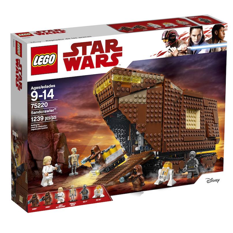 TLJ (ANH) Sandcrawler Lego Set 1