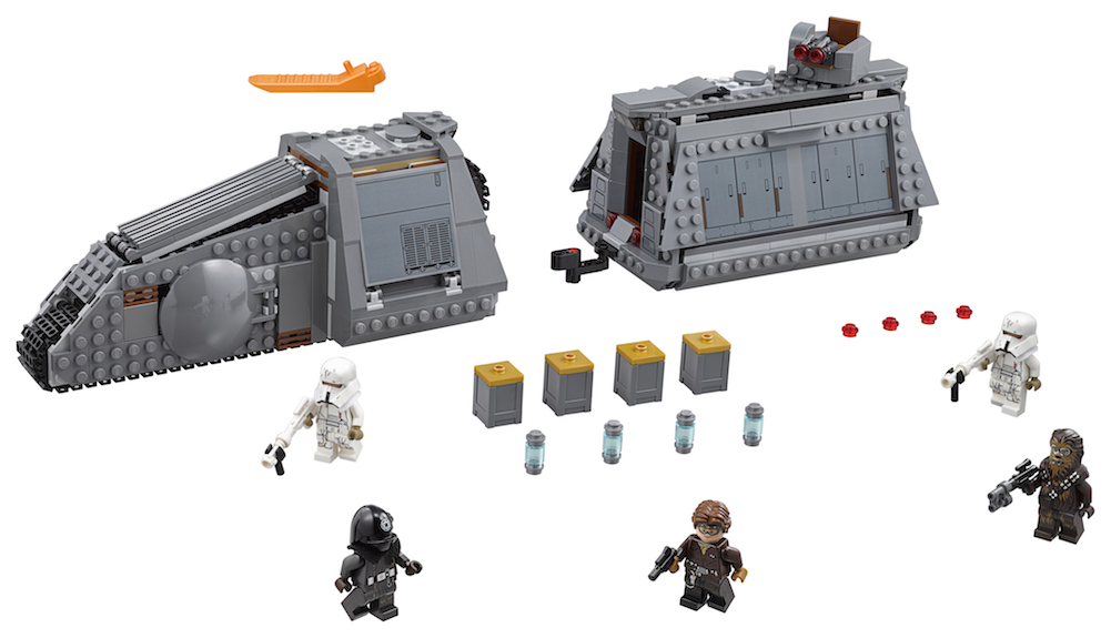 Solo: ASWS Imperial Conveyex Transport Lego Set 3