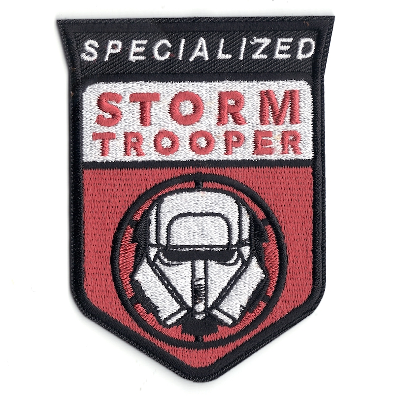 Solo: ASWS Specialized Stormtrooper Embroidered Iron-On Patch