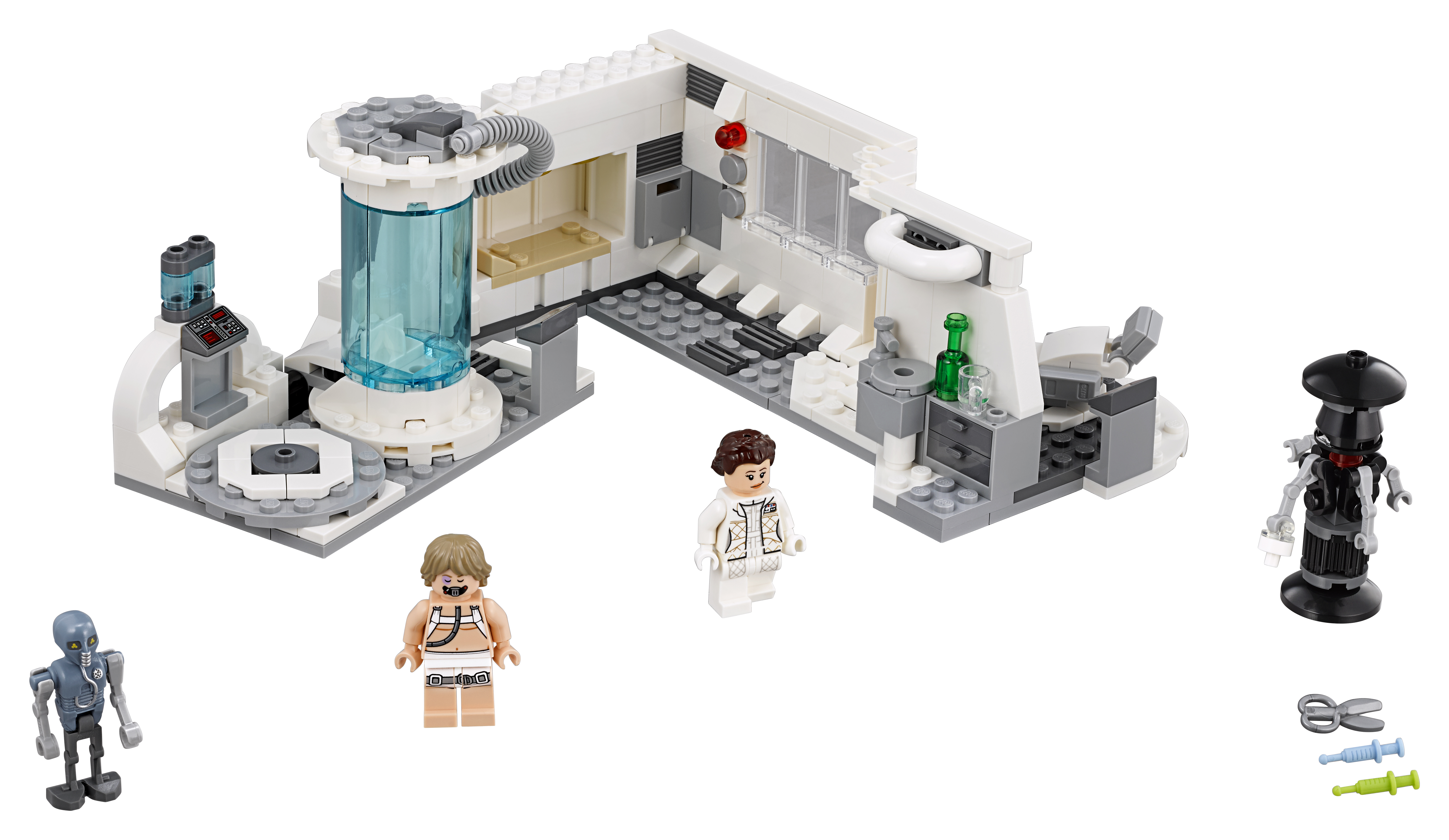 TLJ (TESB) Hoth Medical Chamber Lego Set 3