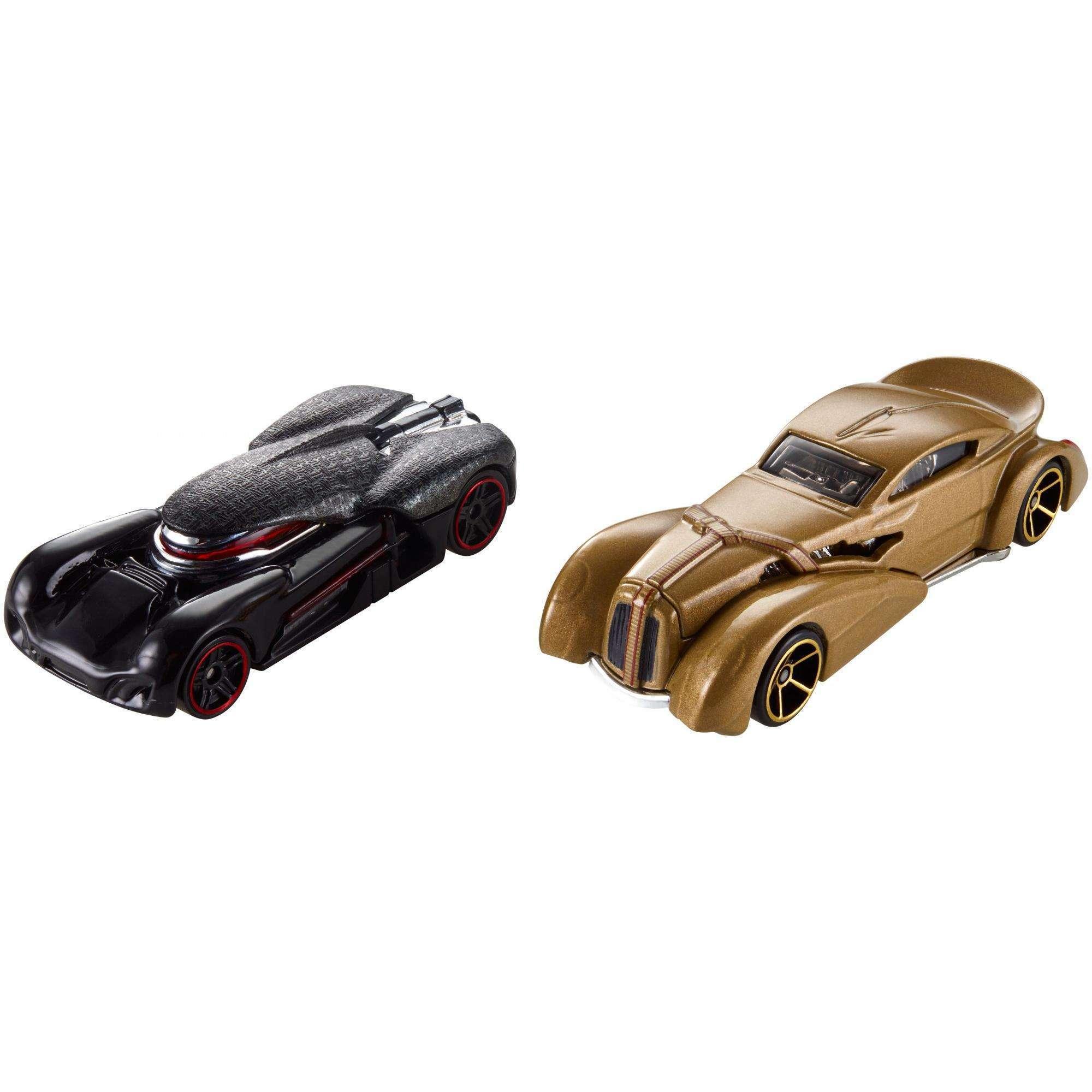 TLJ HW Snoke & Kylo Ren Character Car 2-pack 3