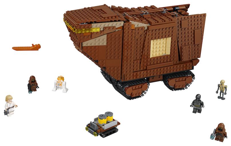 TLJ (ANH) Sandcrawler Lego Set 3