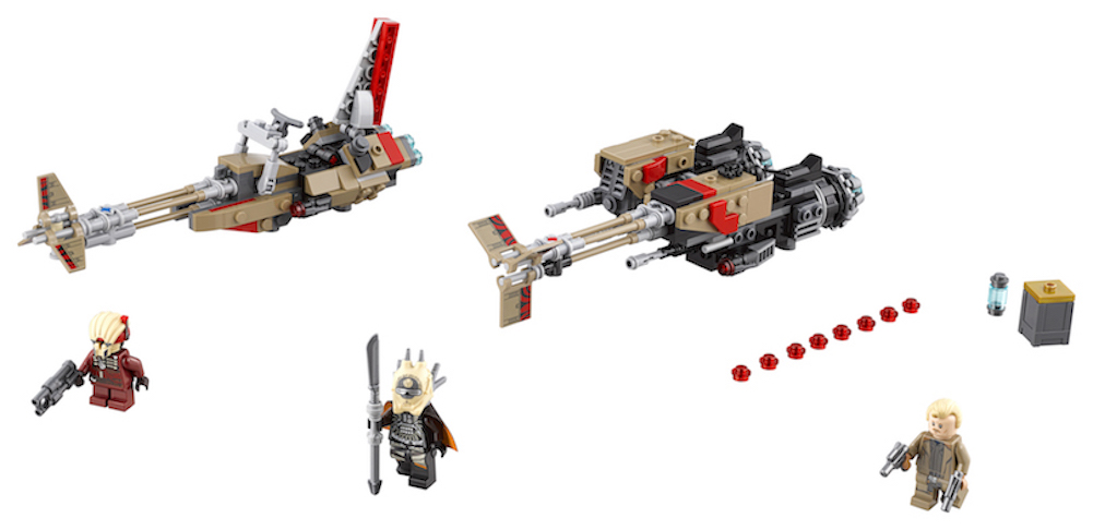 Solo: ASWS Cloud-Rider Swoop Bikes Lego Set 3