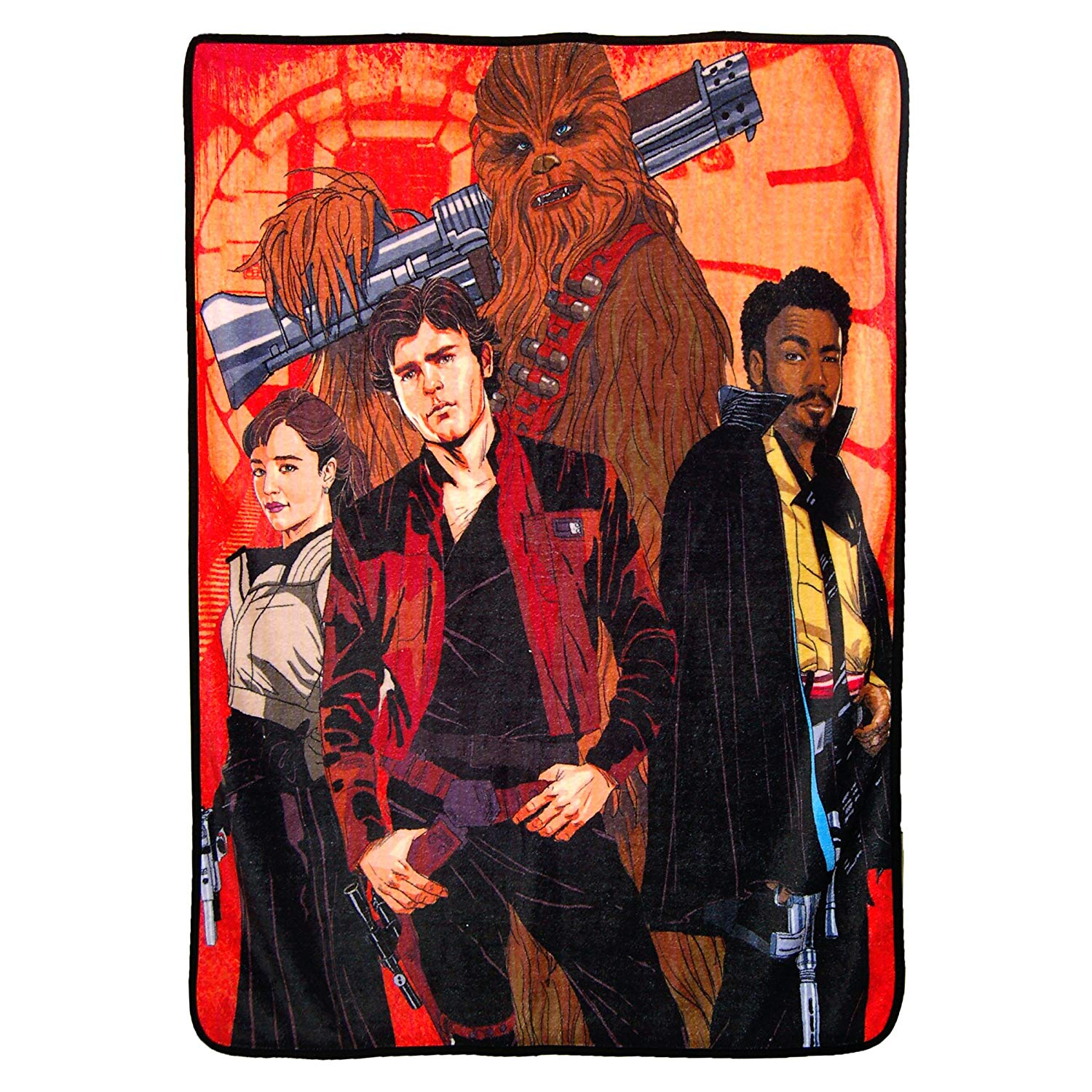 Solo: ASWS Galactic Swag Super Plush Throw Blanket