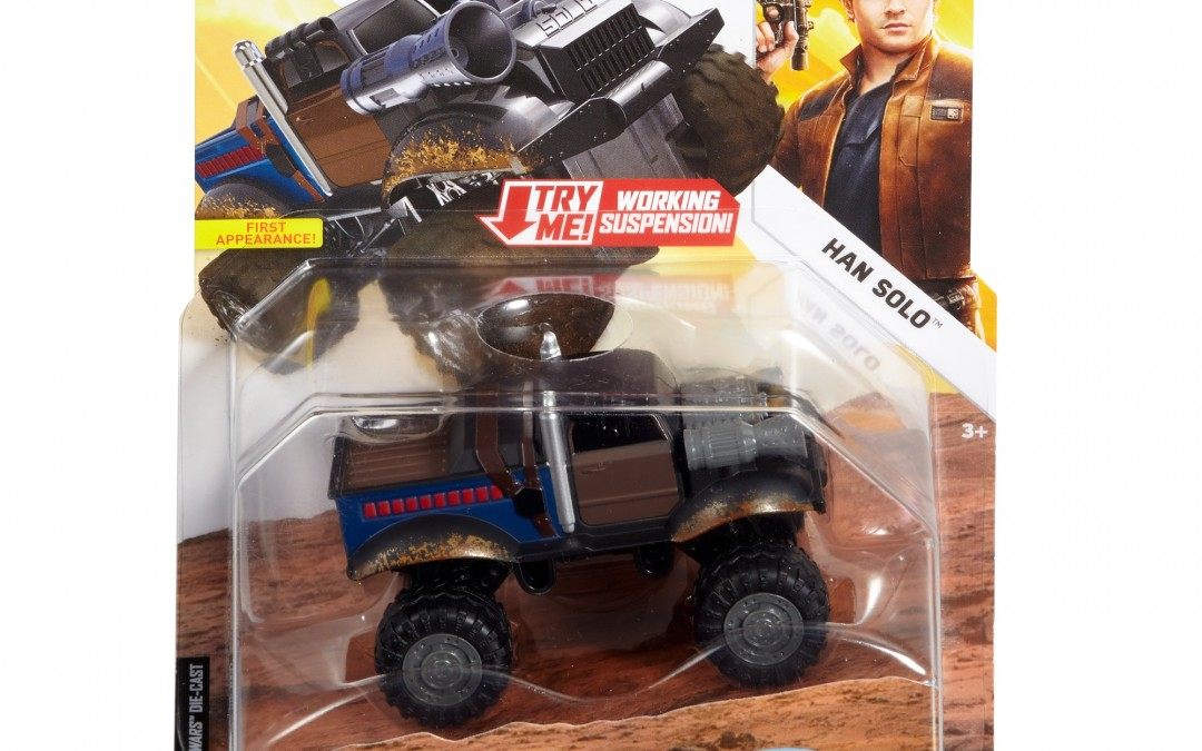 New Solo Movie Hot Wheels Han Solo All Terrain Vehicle Character Car available on Walmart.com