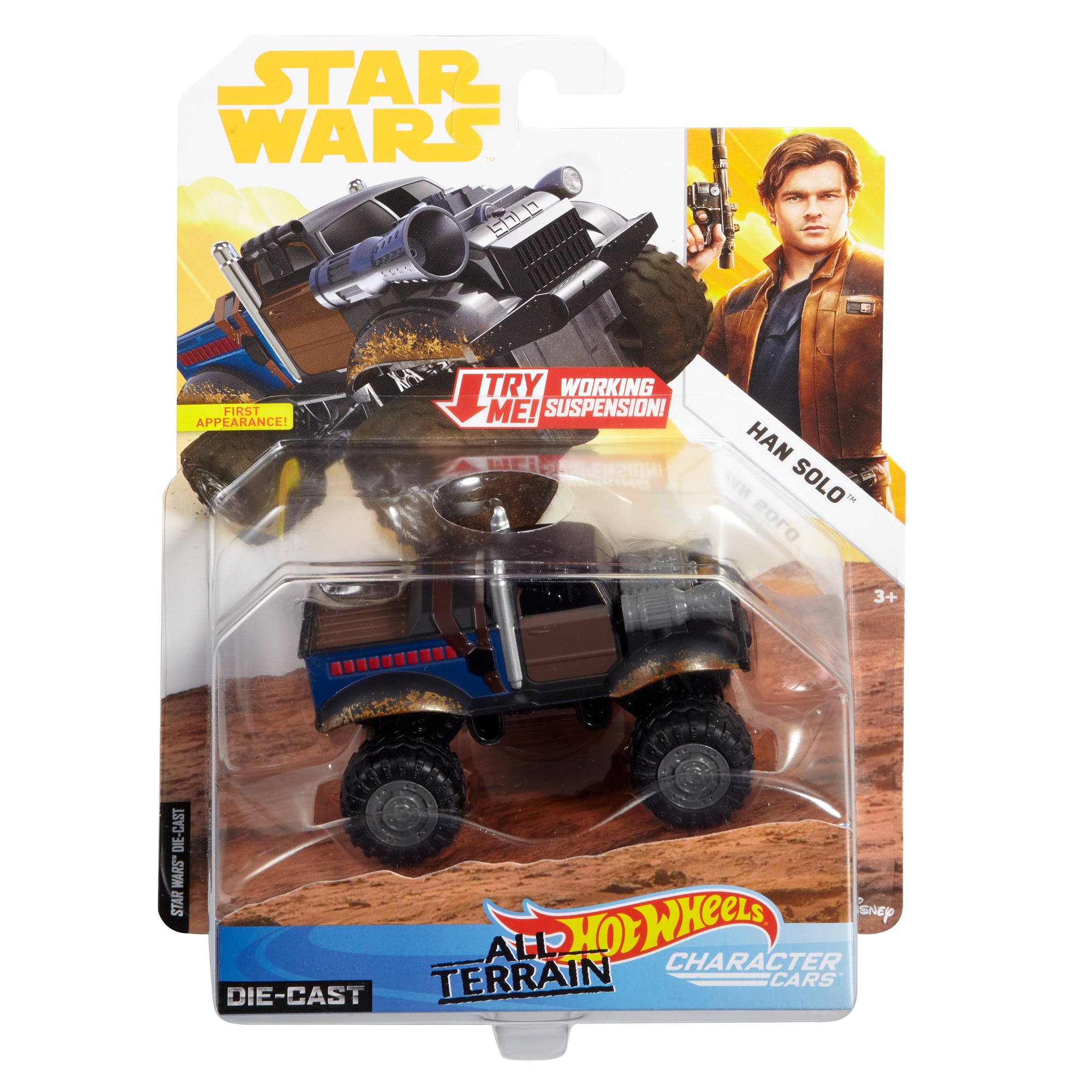 Solo: ASWS Hot Wheels Han Solo All Terrain Vehicle Character Car 1