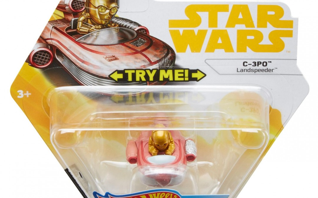 New Solo Movie (A New Hope) Hot Wheels C-3PO Battle Roller Toy available on Walmart.com