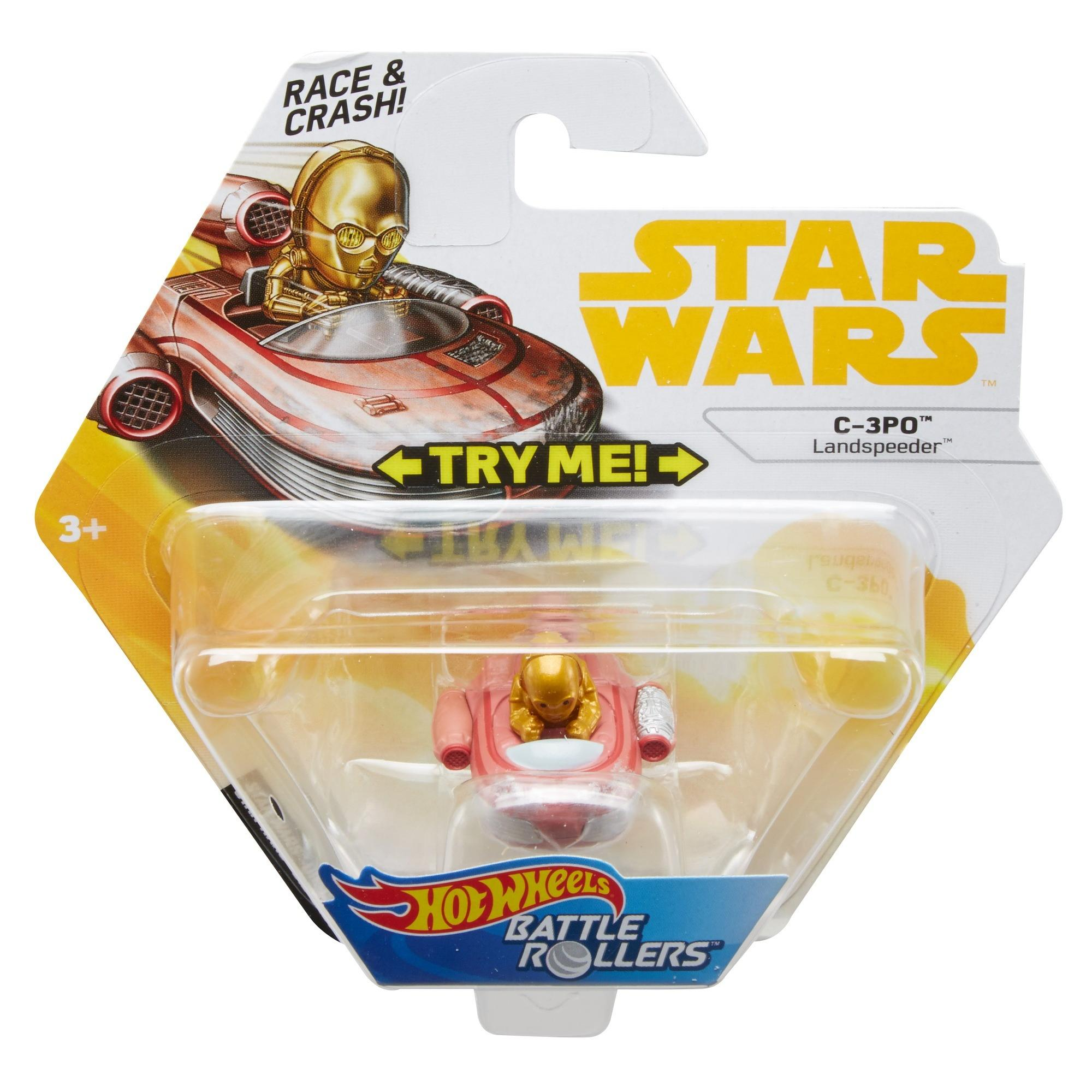 Solo: ASWS (ANH) HW C-3PO Battle Roller Toy 1