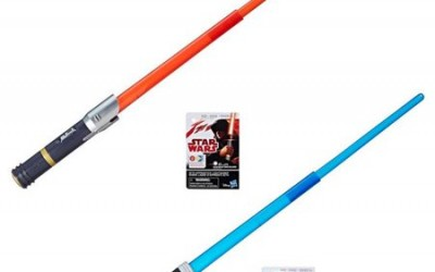 New Last Jedi Electronic Apprentice Lightsabers Set available on Walmart.com
