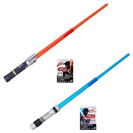 New Last Jedi Electronic Apprentice Lightsabers Set available on Walmart.com