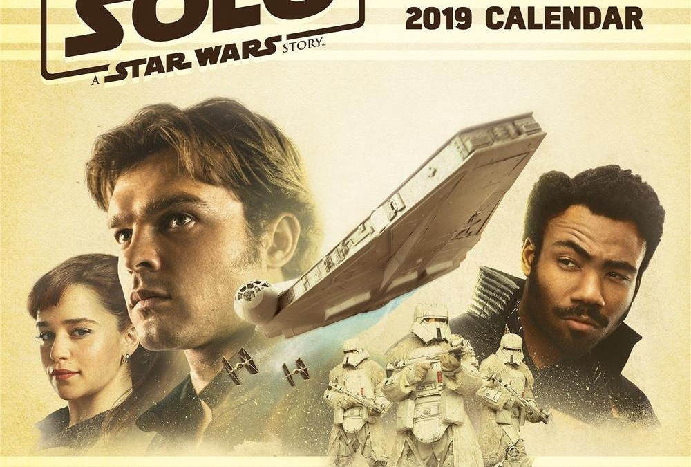 New Solo Movie 2019 Wall Calendar available on Walmart.com