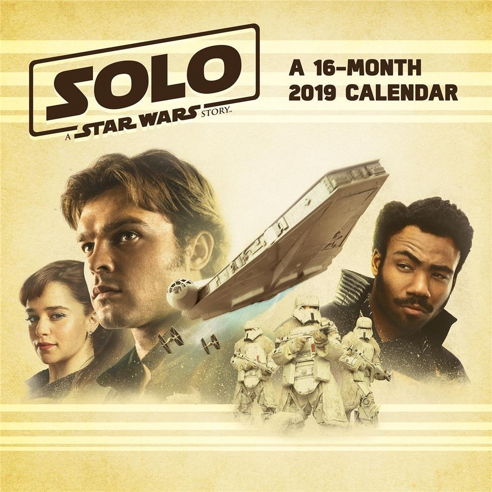Solo: ASWS 2019 Wall Calendar 1