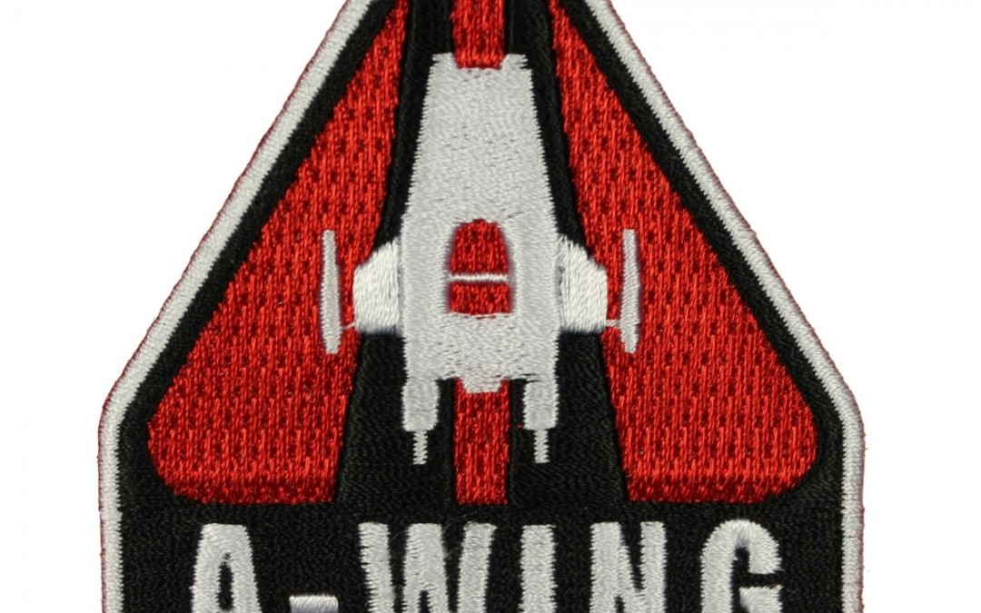 New Last Jedi A-Wing Rebel Spaceship Iron-On Patch available on Walmart.com