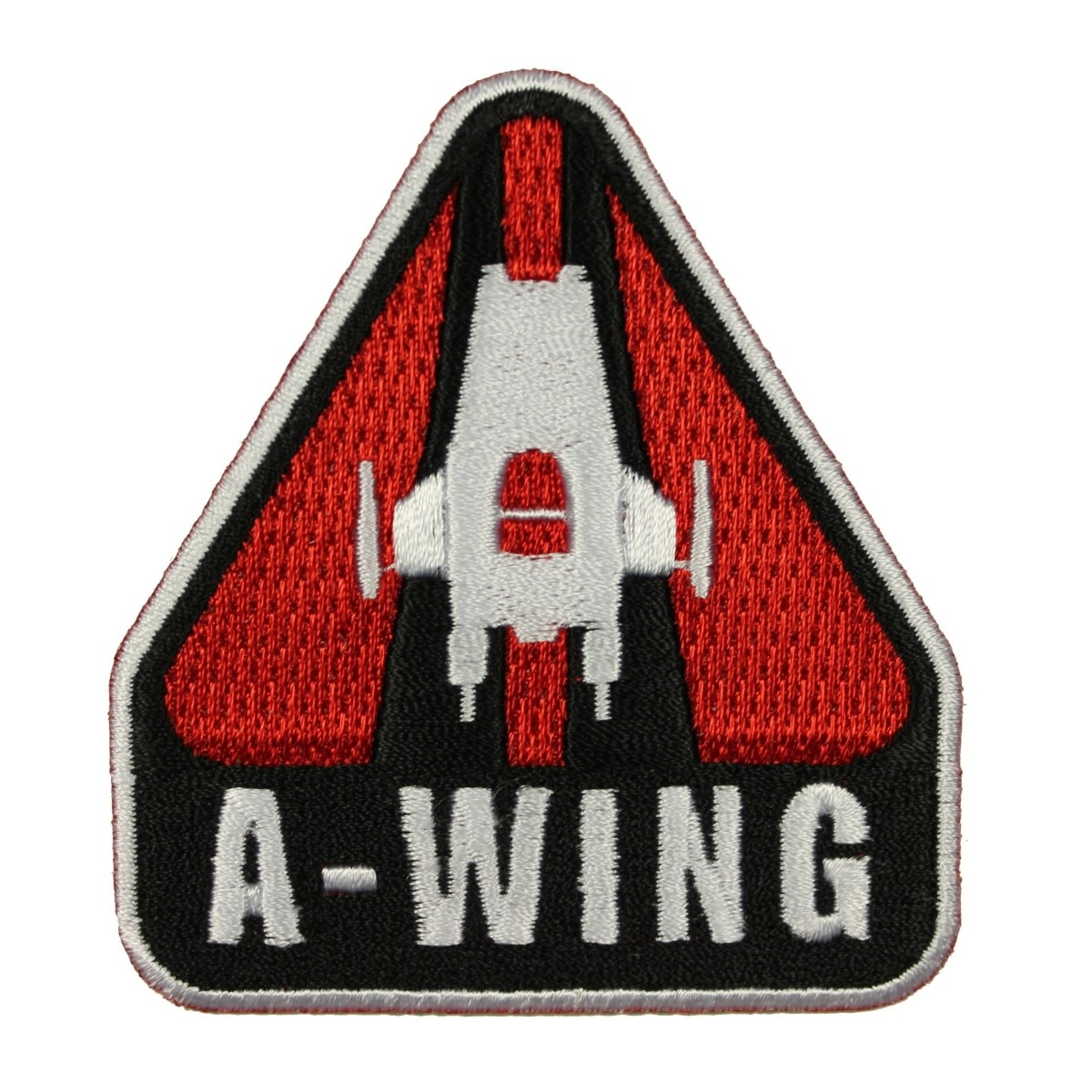 TLJ A-Wing Rebel Spaceship Iron-On Patch