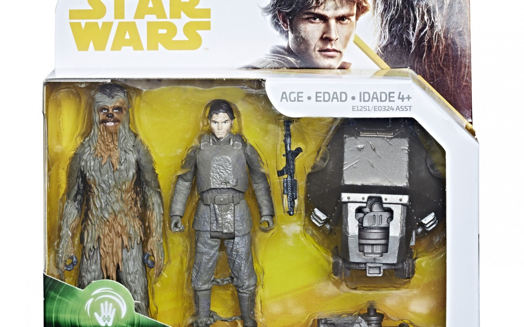 New Solo Movie Force Link 2.0 Han Solo & Chewbacca Figure 2-Pack available on Walmart.com
