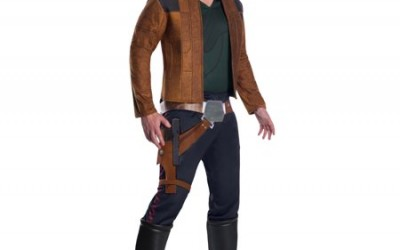 Young Han Solo Costume Adult Run-Down from Solo: A Star Wars Story