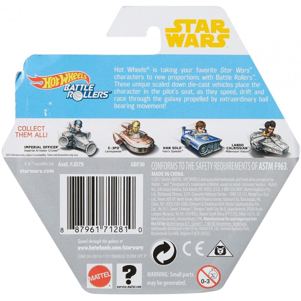 Solo: ASWS HW Chewbacca Battle Roller Toy 2