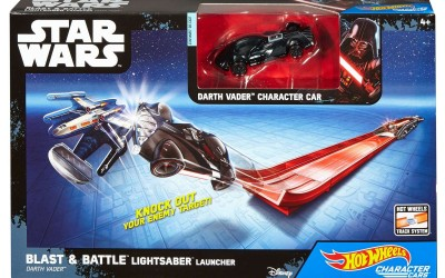 New Rogue One Hot Wheels Lightsaber Blast & Battle Launcher Set available on Walmart.com