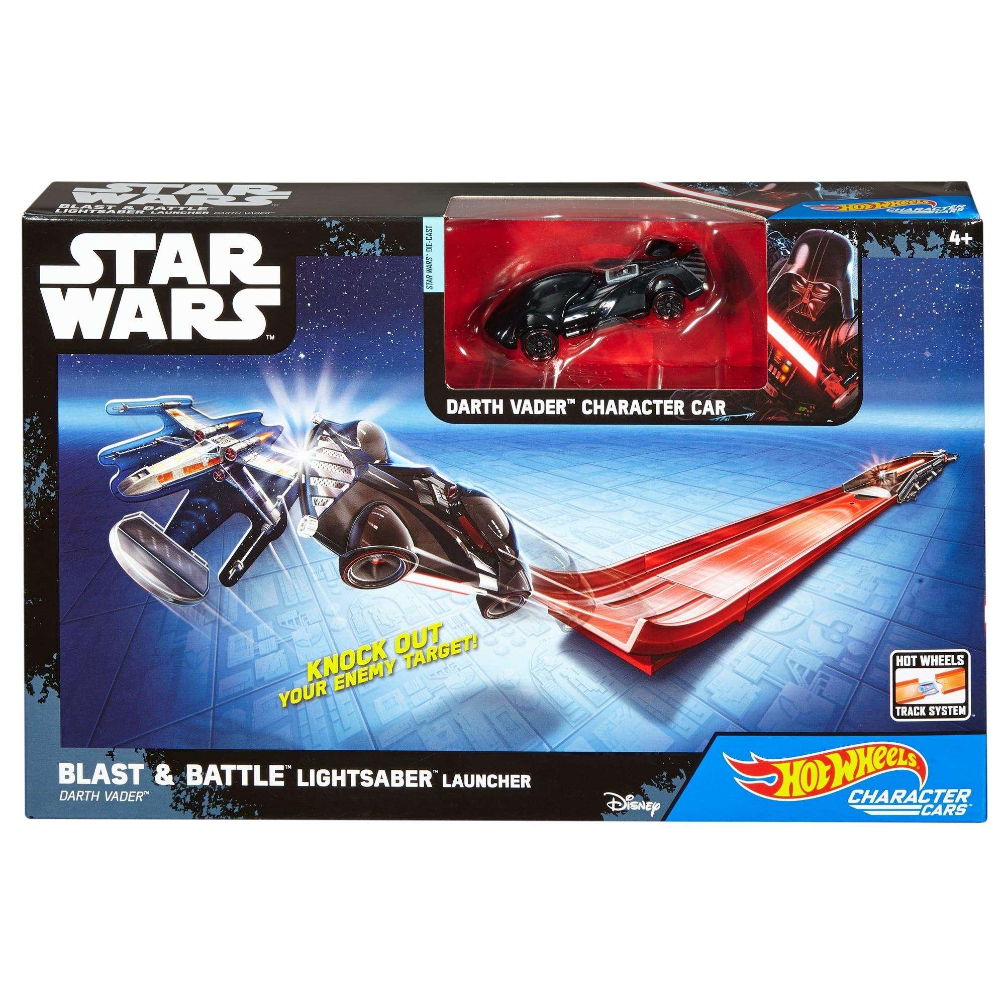 RO Hot Wheels Lightsaber Blast & Battle Launcher Set 1