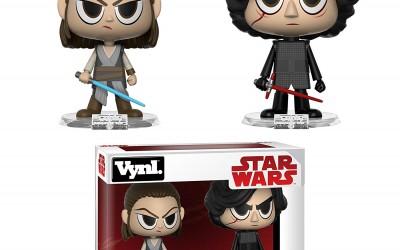 New Last Jedi Rey & Kylo Funko Pop! Vynl Figure 2-Pack available on Walmart.com