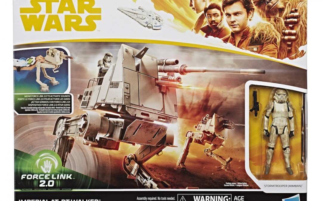 New Solo Movie AT-DT Imperial Walker with Stormtrooper Force Link 2.0 Figure Set available on Walmart.com