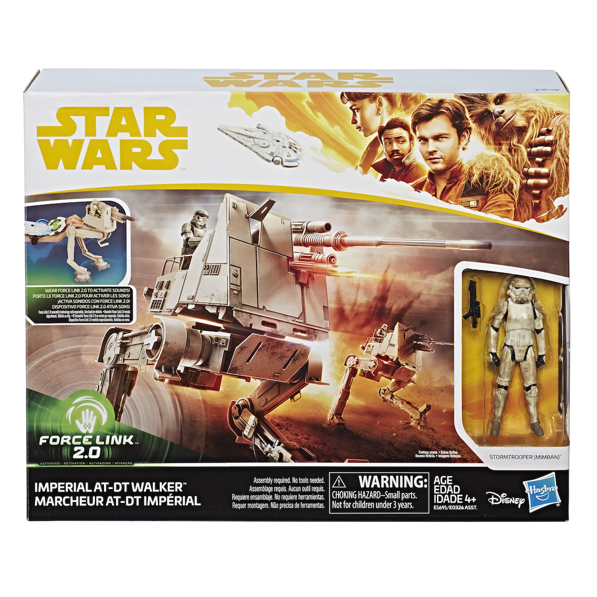 Solo: ASWS AT-DT Imperial Walker with Stormtrooper Force Link 2.0 Figure Set 1
