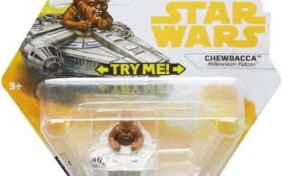 New Solo Movie Hot Wheels Chewbacca Battle Roller Toy available on Walmart.com