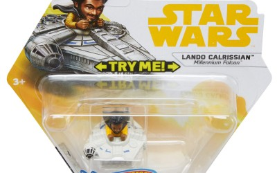 New Solo Movie Hot Wheels Lando Calrissian Battle Roller Toy available on Walmart.com