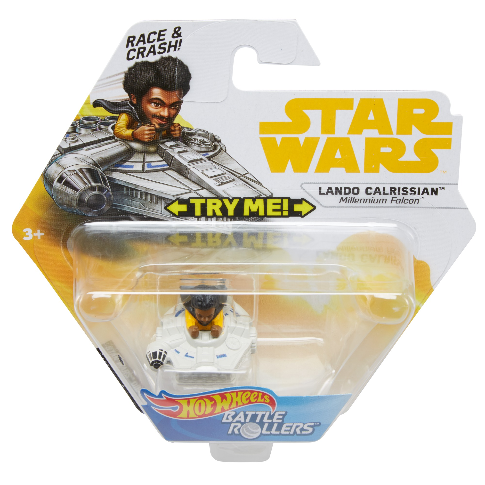 Solo: ASWS HW Lando Calrissian Battle Roller Toy 1