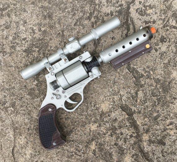 Solo: ASWS Tobias Beckett's DG-29 Replica Blaster