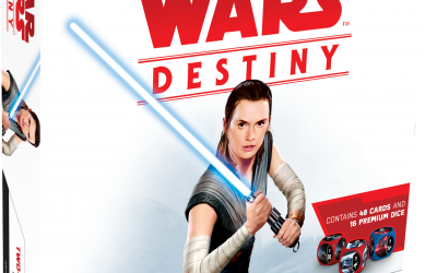 New Last Jedi Destiny Two-Player Card Game now in stock!