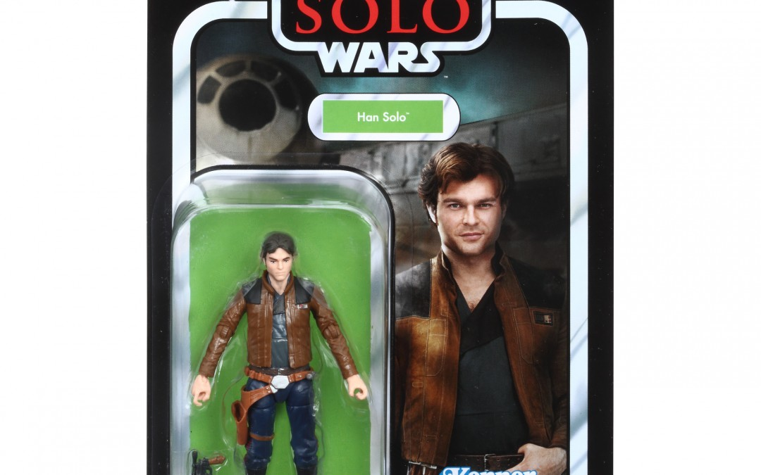 "New Solo Movie Han Solo 3.75"" Vintage Figure now available!"