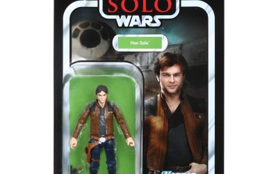 """New Solo Movie Han Solo 3.75"""" Vintage Figure now available!"""