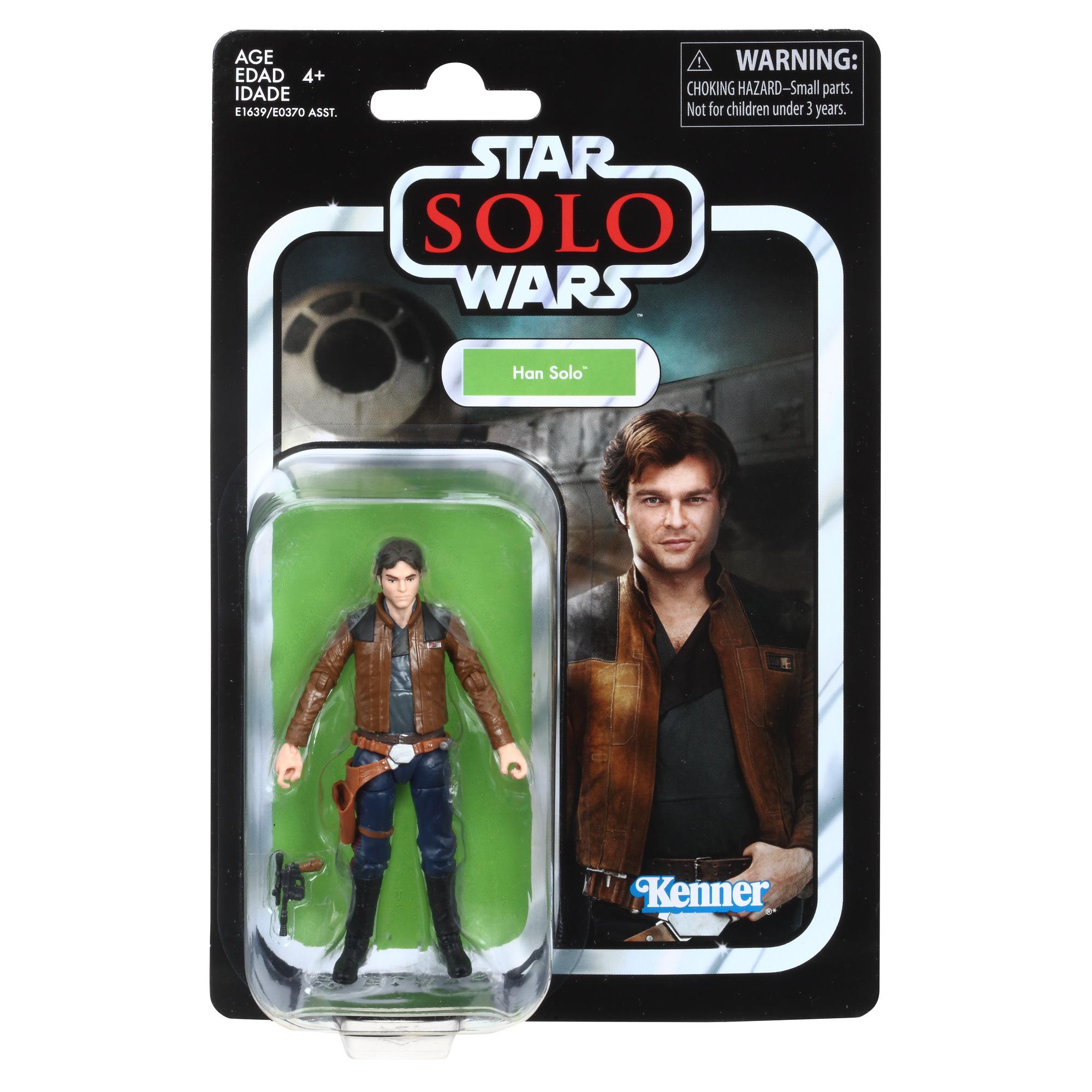 """Solo: ASWS Han Solo 3.75"""" Vintage Figure 1"""
