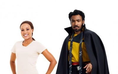 New Solo Movie Lando Calrissian Cardboard Standee now available!