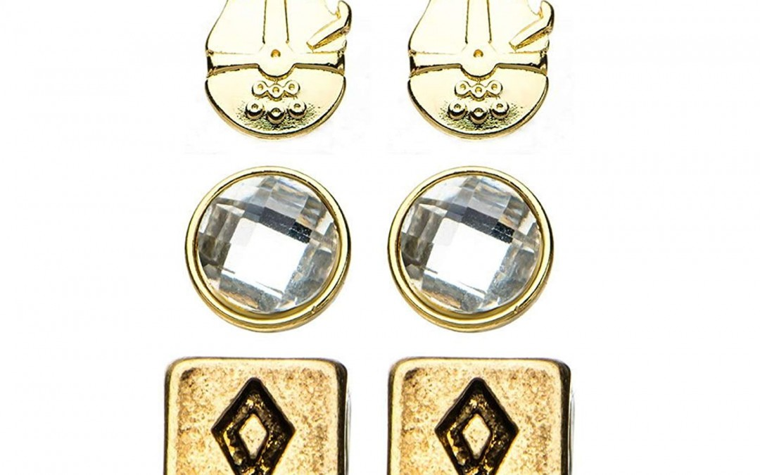New Solo Movie Stainless Steel Earrings Set now in stock!