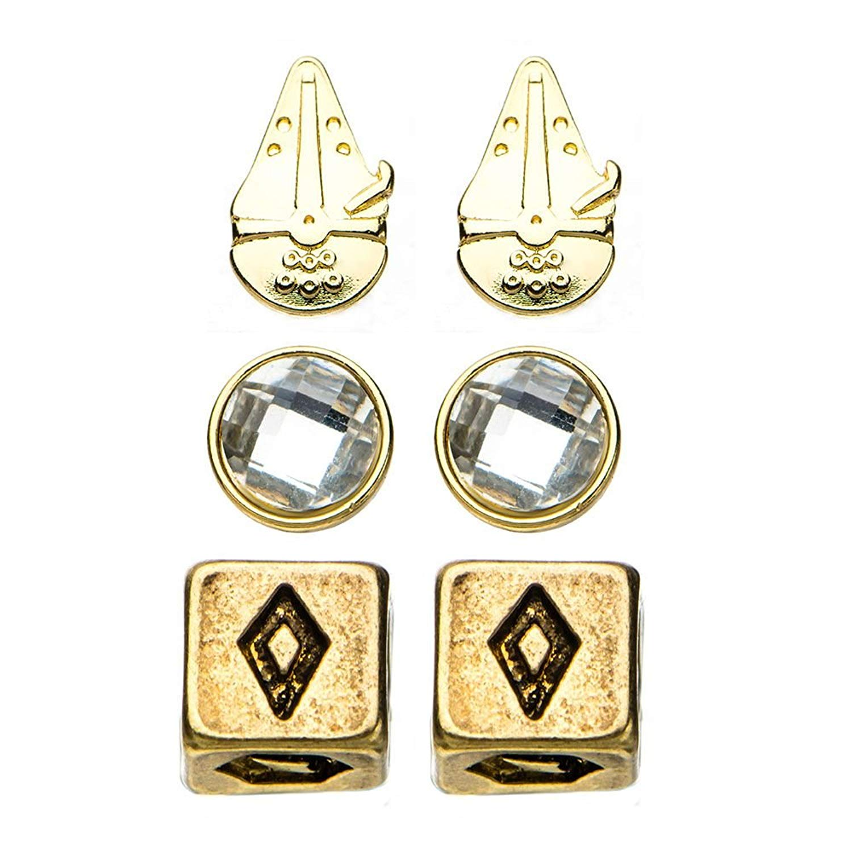 Solo: ASWS Stainless Steel Earrings Set