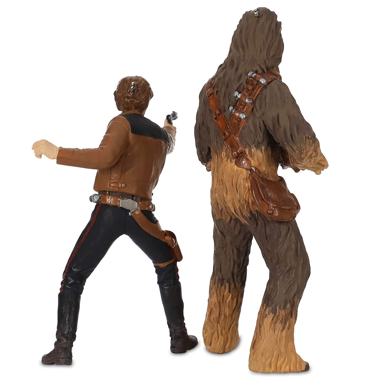 Solo: ASWS Han Solo and Chewbacca Hallmark Ornament Set 3
