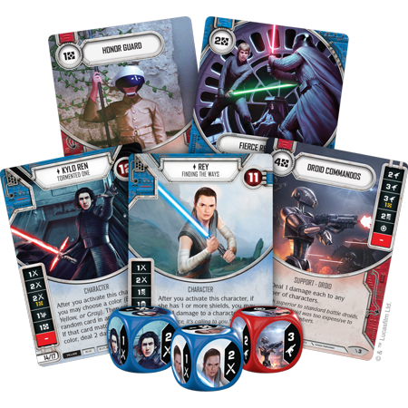 TLJ Destiny Two-Player Card Game 3