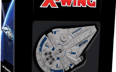 New Solo Movie X-Wing Game Millennium Falcon Expansion Pack now available!