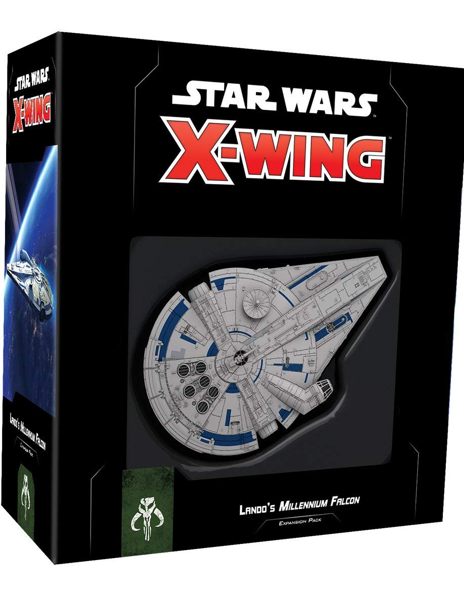 Solo: ASWS X-Wing Game Millennium Falcon Expansion Pack