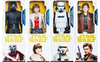 """New Solo Movie 12"""" Figure 4-Pack now in stock!"""