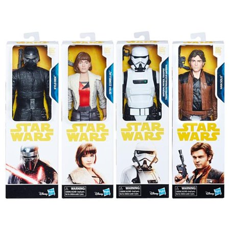 "New Solo Movie 12"" Figure 4-Pack now in stock!"