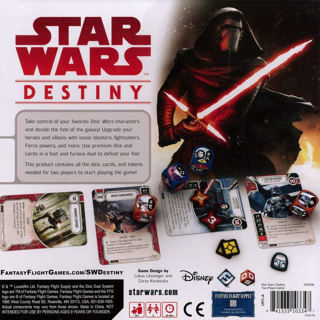 TLJ Destiny Two-Player Card Game 2